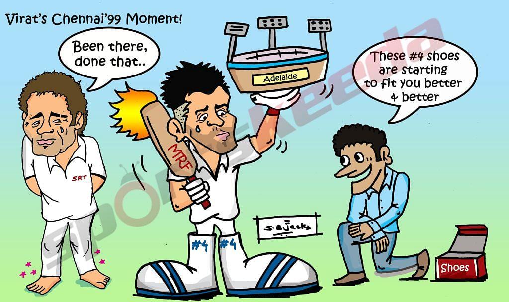 Comic: Virat Kohli's Chennai 1999 moment