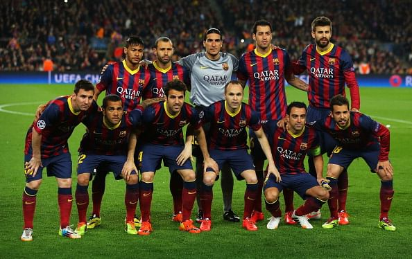 Барселона в 2017 году