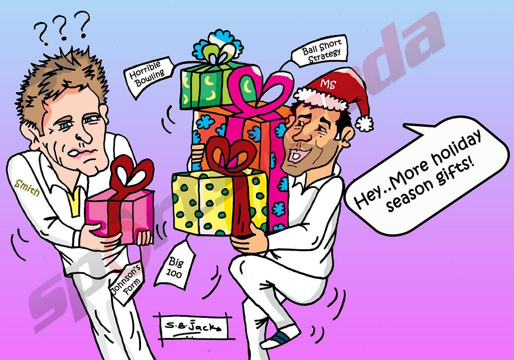 Comic: More holiday gifts for Steven Smith and Australia