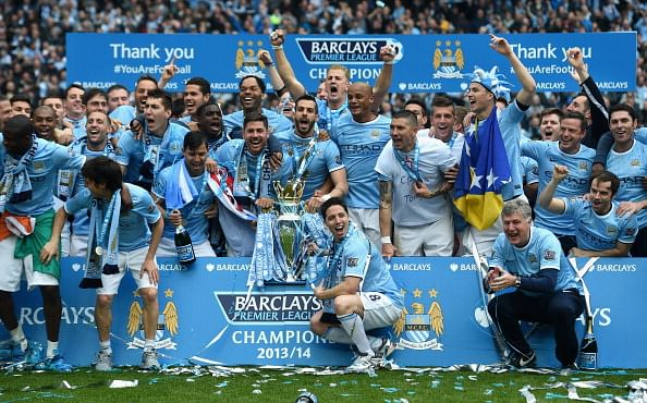 Manchester City are the seventh oldest team in Europe and most senior in the Premier League