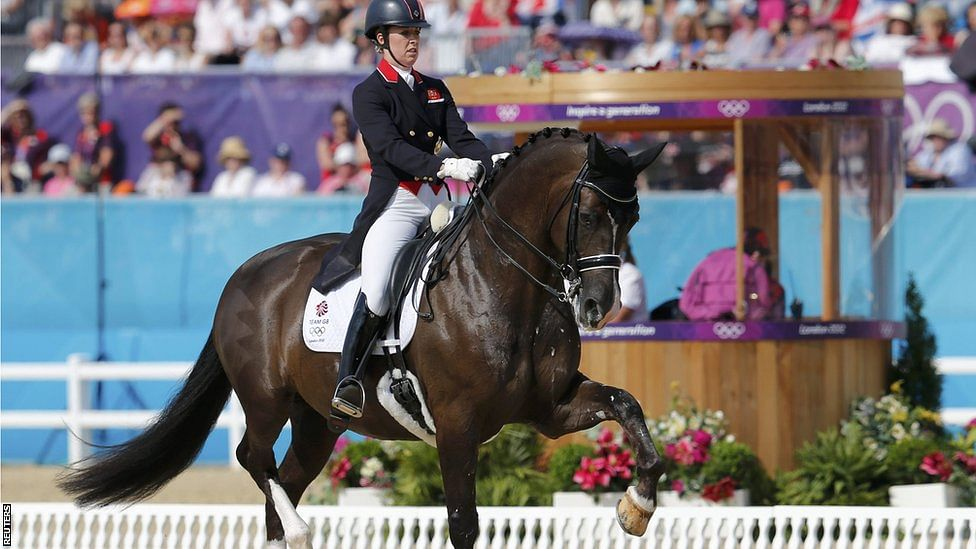 Olympic Champion Charlotte Dujardin Sets New Record At Olympia