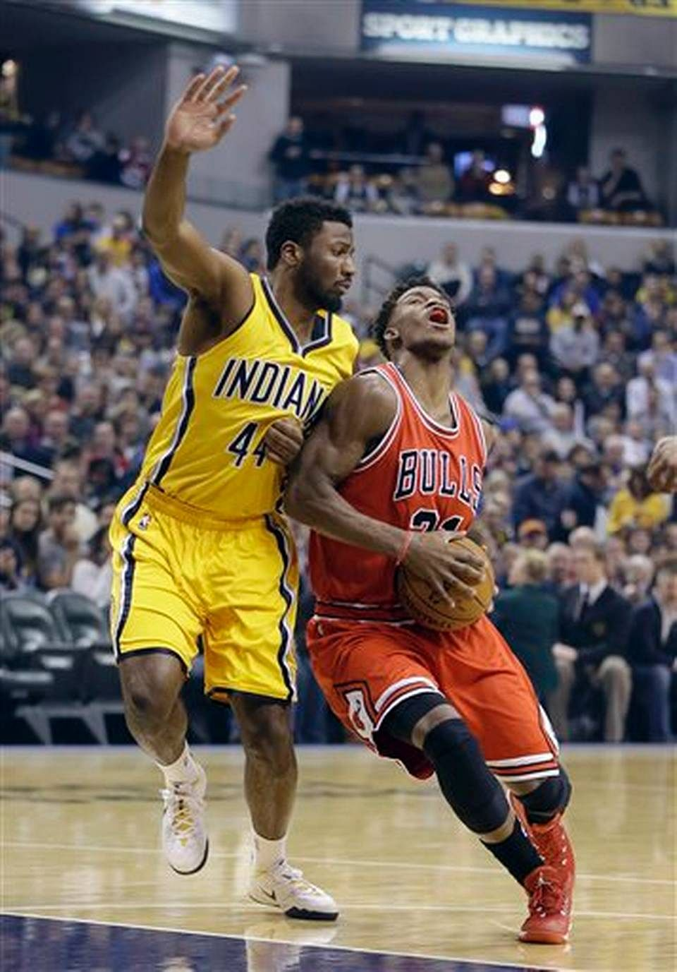 Chicago Bulls beat Indiana Pacers in a close contest