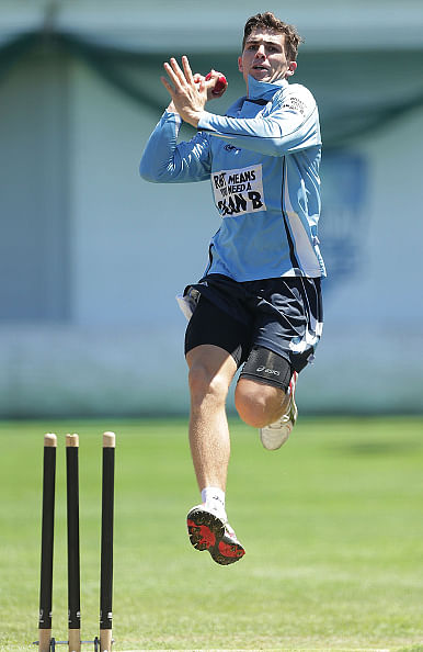 In Pictures: Sean Abbott returns to cricket training