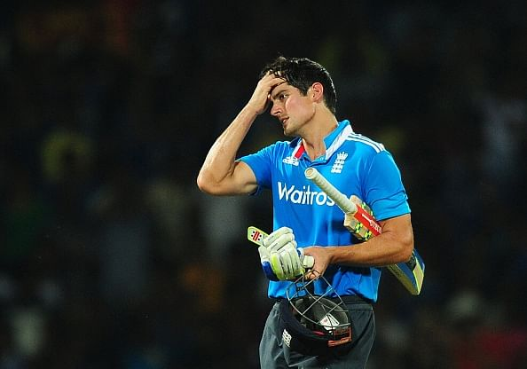 Gutted at being left out of England squad for 2015 World Cup: Alastair Cook