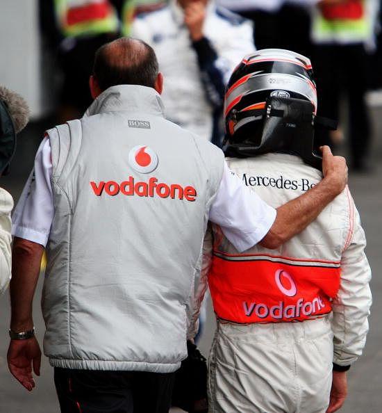 Honda, Dennis and Fernando Alonso