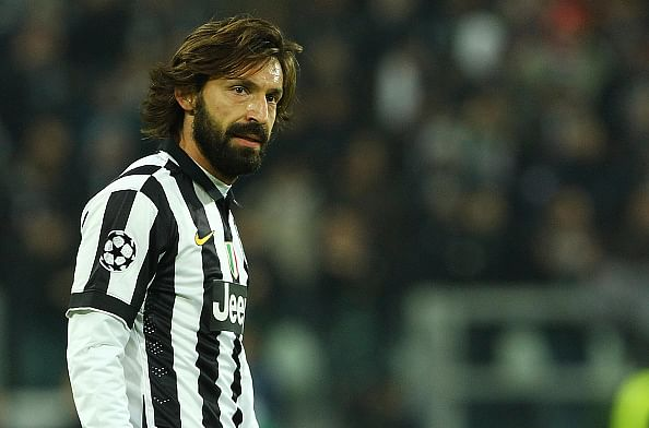 Andrea Pirlo wins Serie A Player of the Year award again, 7 Juventus players make Team of 2013/14