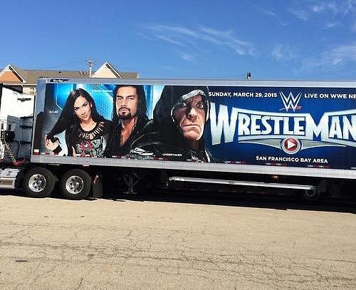 Undertaker features in promotionals for Wrestlemania 31