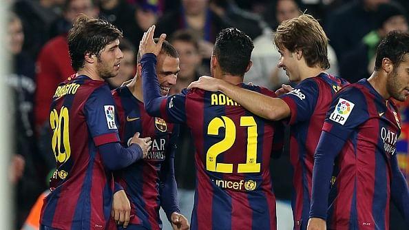 Copa del Rey: Barcelona thrash Huesca 8-1, Valencia and Celta in pre-quarters