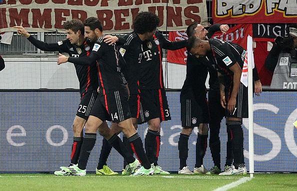 Bayern Munich reap late 2-1 win at Mainz in Bundesliga