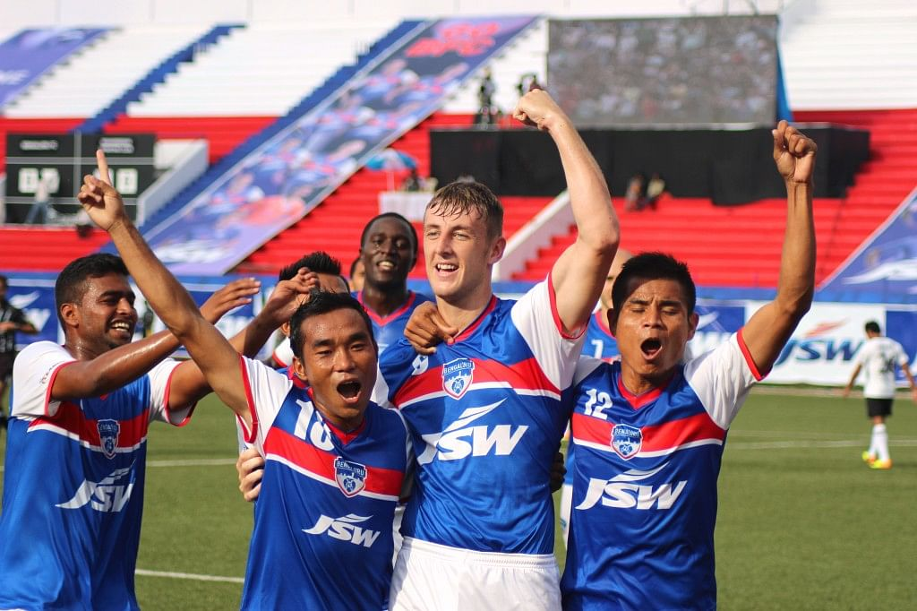 I-League champions Bengaluru FC Tie up with SAP for Fan Engagement