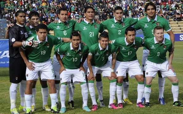 Bolivia ends year with improved FIFA ranking