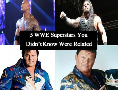 5 related WWE superstars you probably didn't know about
