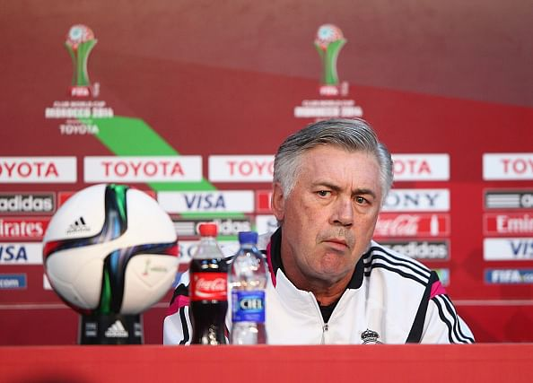 Real Madrid manager not worried about match venue change