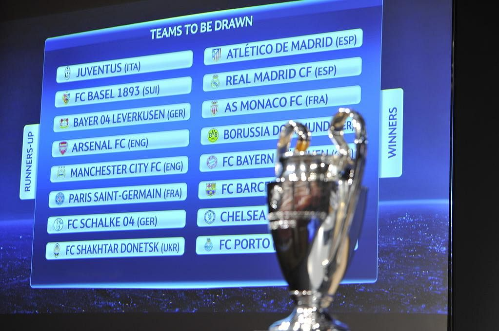 UEFA Champions League 2014-15: Round of 16 Draw - LIVE