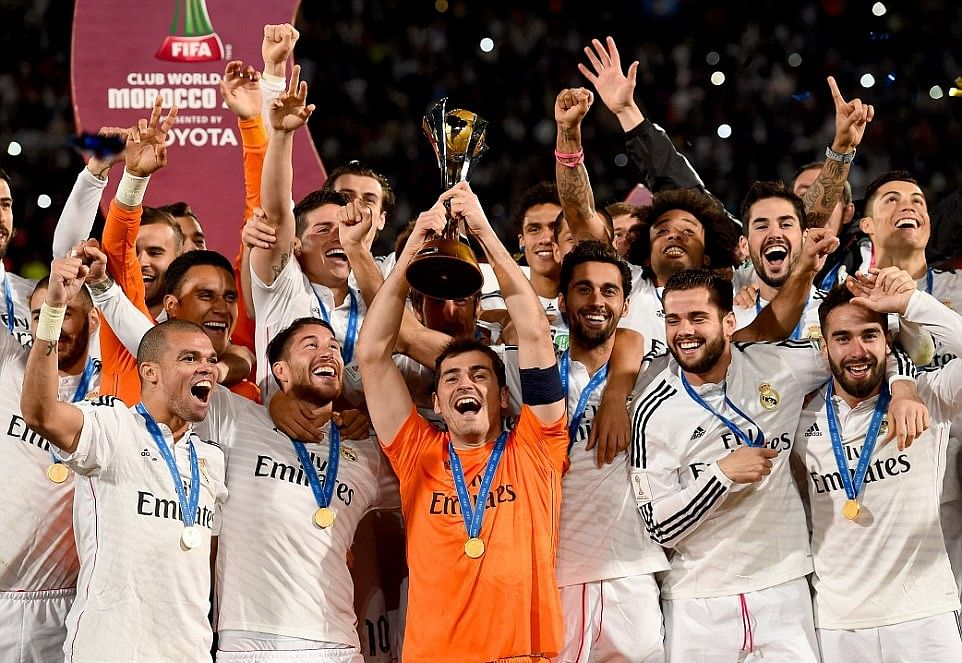 Ronaldo and Casillas create records in Real Madrid's Club World Cup win