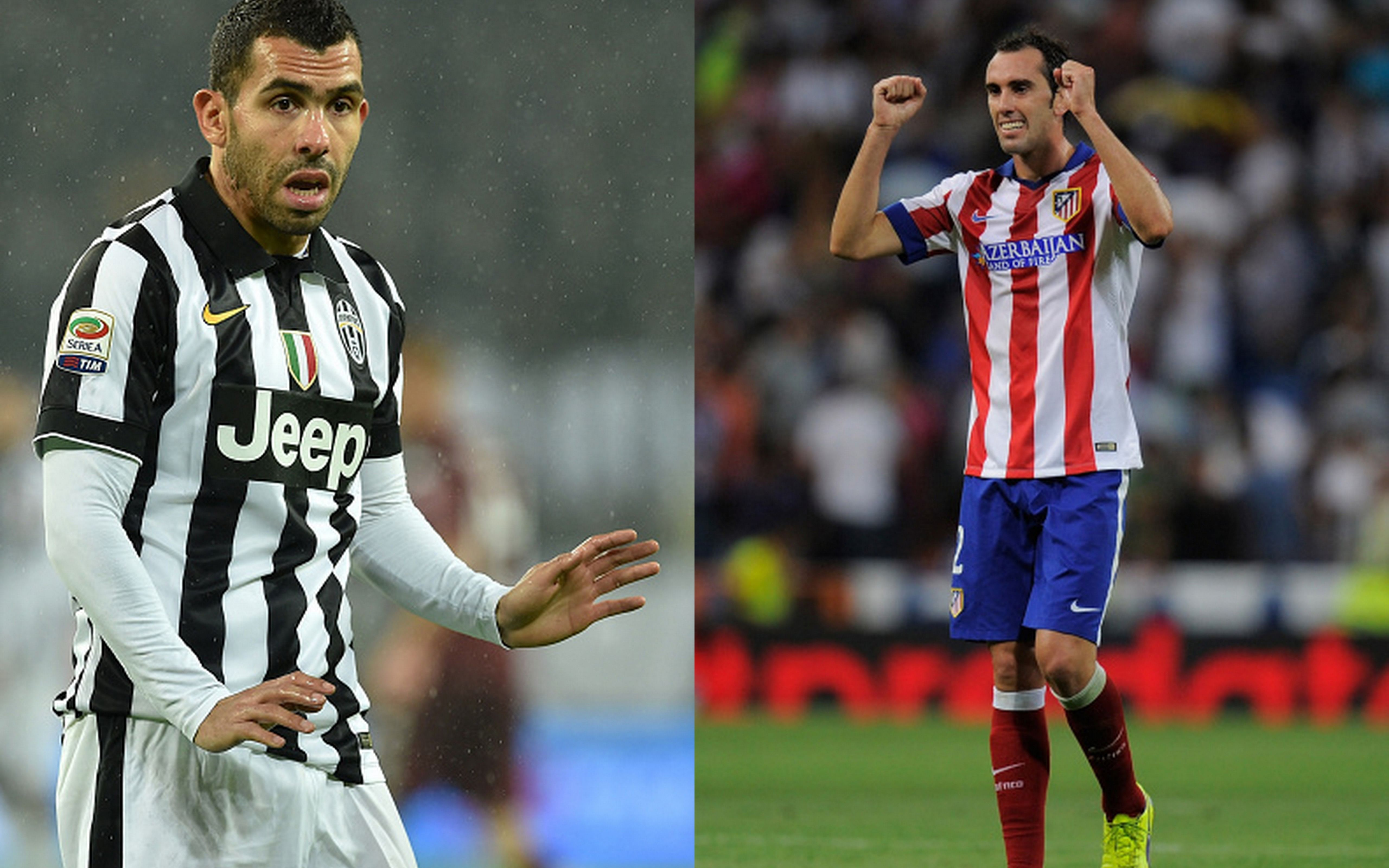 Carlos Tevez vs Diego Godin: Why this key battle could decide Juventus vs. Atletico Madrid
