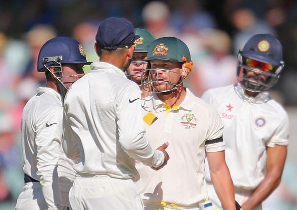 Australia v India - 1st Test, Day 4: David Warner's century gives Australia big lead