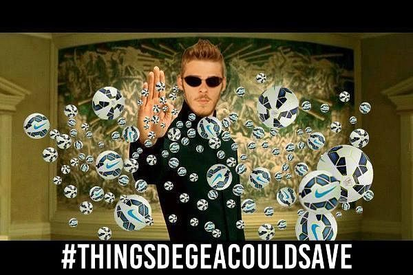 The best #ThingsDeGeaCouldSave memes from the internet