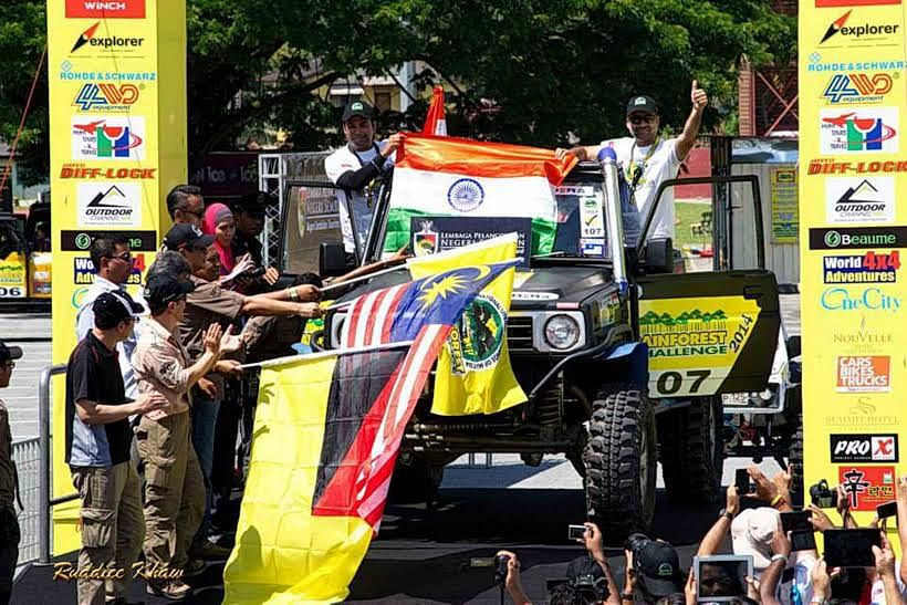 Team India shines at the Prologue Stages of the Rainforest Challenge 2014