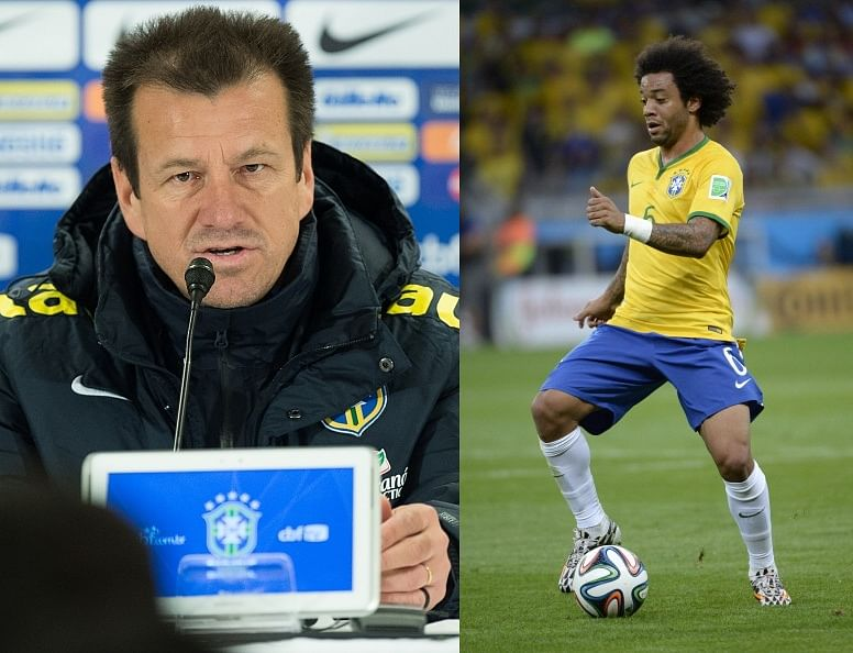 Brazil coach Dunga explains why he dropped Marcelo for Filipe Luis