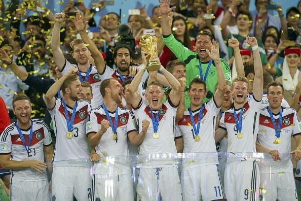 Germany rank first in latest FIFA standings