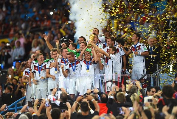Germany ends Spanish dominance in world football