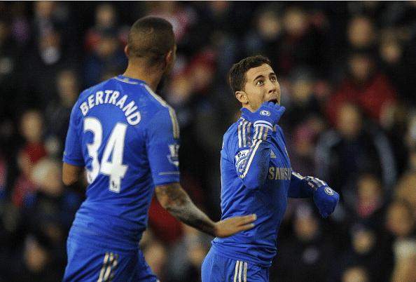 Video: Remembering Eden Hazard's stunning goal against Stoke City at the Britannia stadium