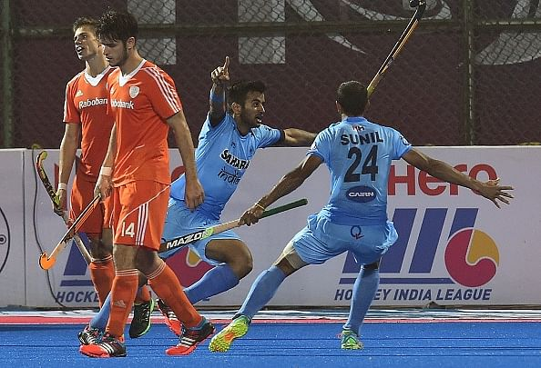 India shocks 2nd-ranked Netherlands 3-2 in Champions Trophy