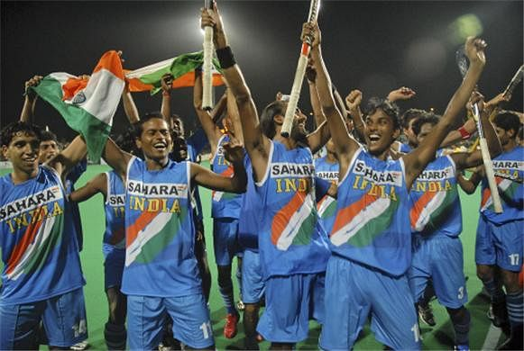 Indian hockey junior team beat New Zealand 5-1