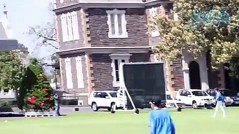 Video: Kieron Pollard hits 6 sixes in an over in a practice match