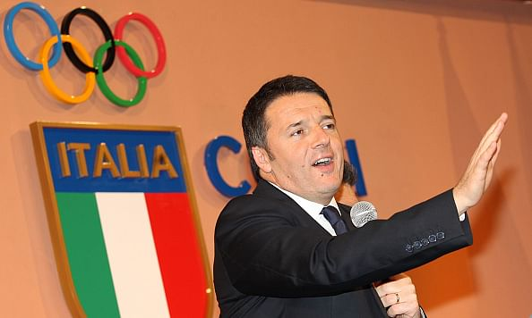 Italy to bid for 2024 Olympic Games: PM