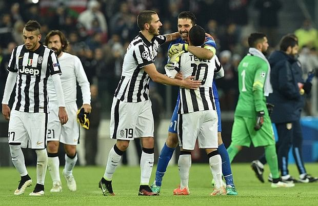 Juventus through to Champions League last 16