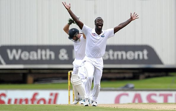 West Indies sweating on pace spearhead Kemar Roach's ankle injury