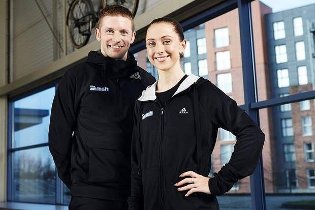British cycling stars Laura Trott and Jason Kenny engaged