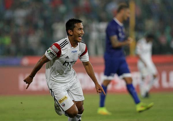 ISL: Interview with NorthEast United FC's promising Indian striker Seminlen Doungel
