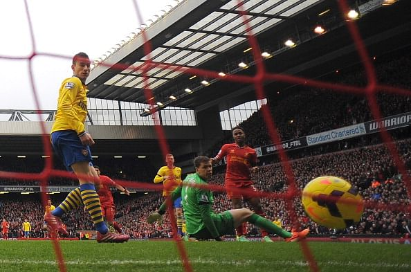 Liverpool v Arsenal: Expected Starting Lineups