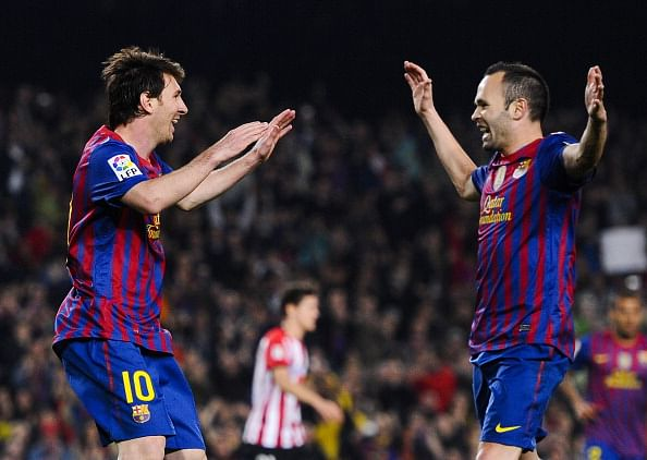 Andres Iniesta picks Lionel Messi as his choice for Ballon d'Or