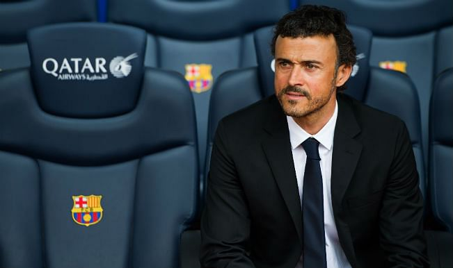 Barcelona manager Luis Enrique believes his team needs to keep evolving