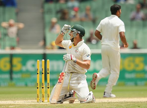 Australia v India 2014 - 3rd Test, Day 5: Tea Report - Kohli-led India reach 104/3 three chasing 384