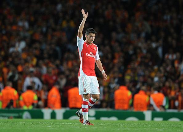 Injured Arsenal playmaker Mesut Ozil to return soon