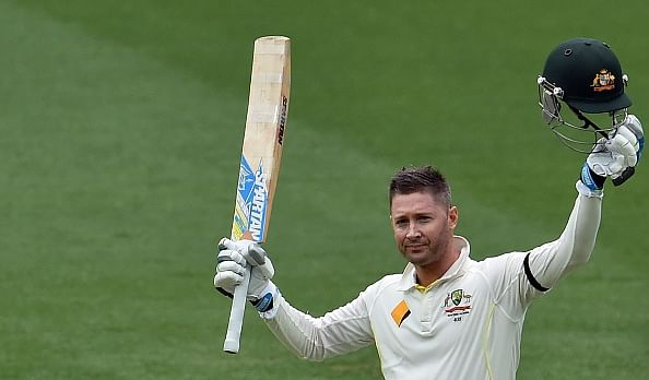 Michael Clarke takes to Twitter for injury update