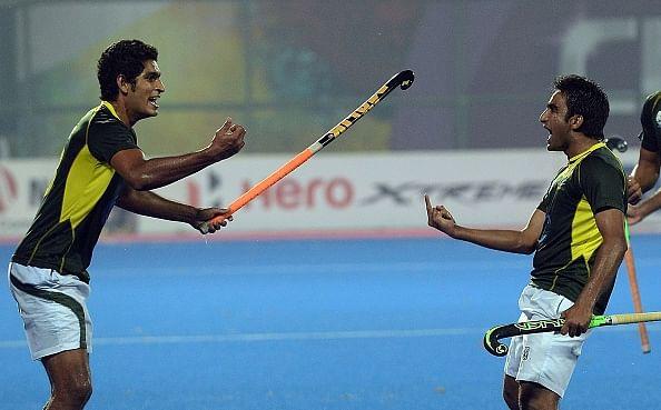 Pakistan hockey team take celebration too far; rebuked by coach