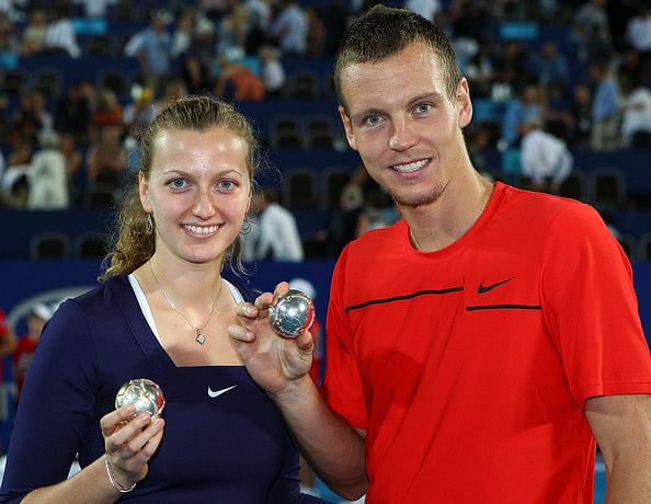 Petra Kvitova, Tomas Berdych named best Czech tennis players for 2014