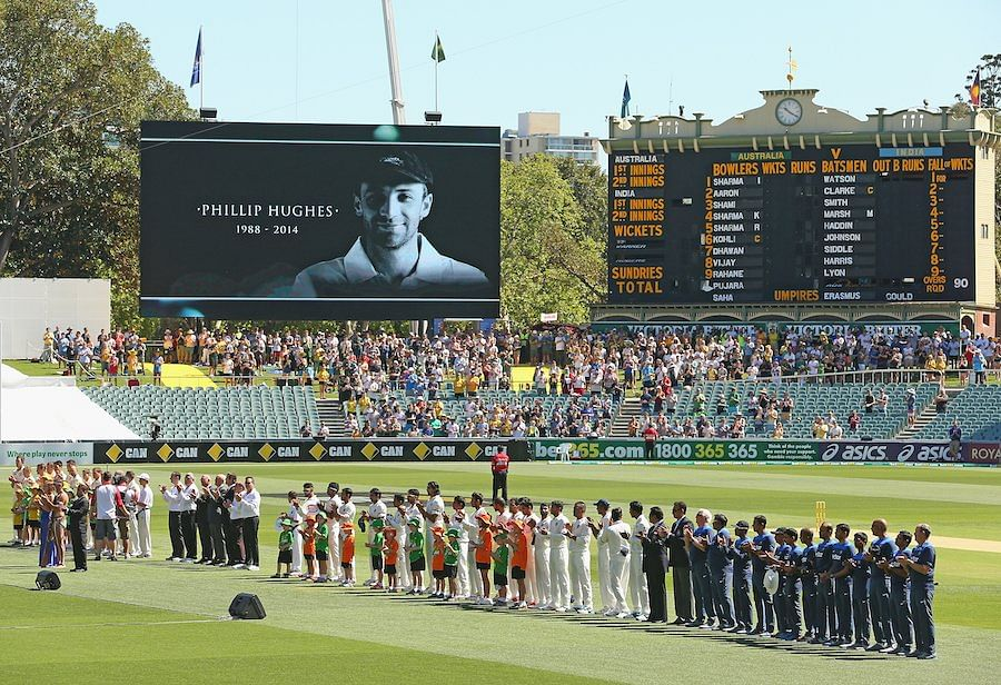 Australia vs India, 1st Test: Players give 63-second tribute to Phillip Hughes