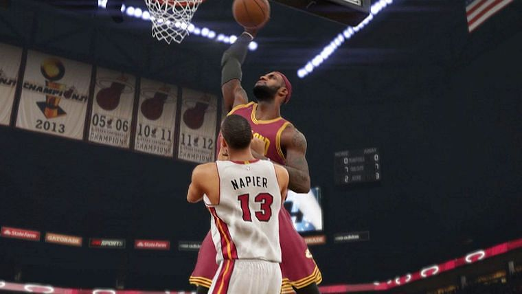 Latest Roster Update of NBA 2K15 changes some of the Players Ratings