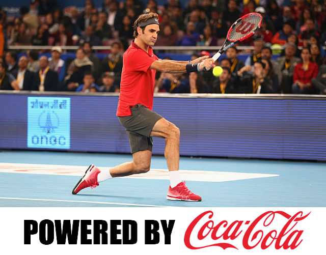 Coca-Cola IPTL gives Indians the surreal Roger Federer experience
