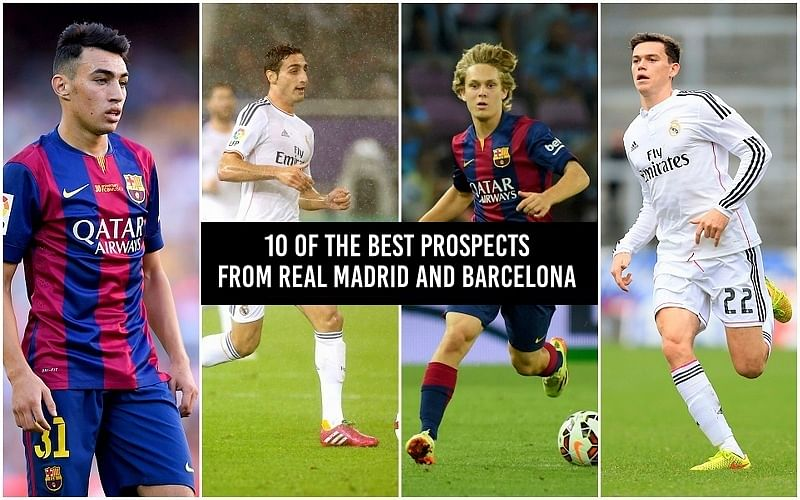 The 10 best youth prospects from Real Madrid and Barcelona you should look out for