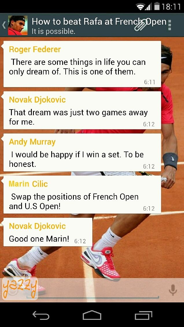 Humor: How to beat Rafa at French Open