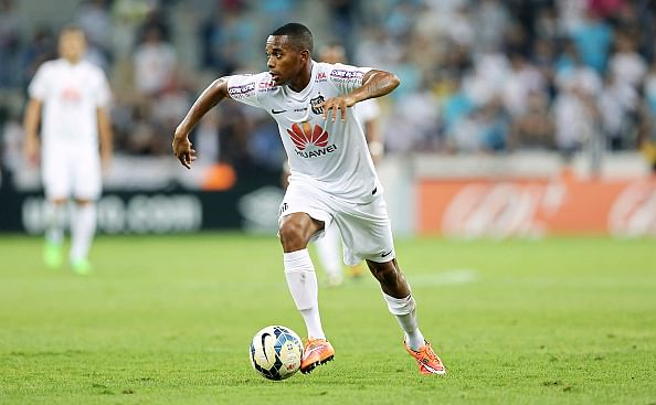 Robinho on verge of exit from Santos