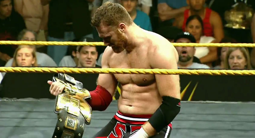 Sami Zayn wins the NXT title -Triple H warns about future